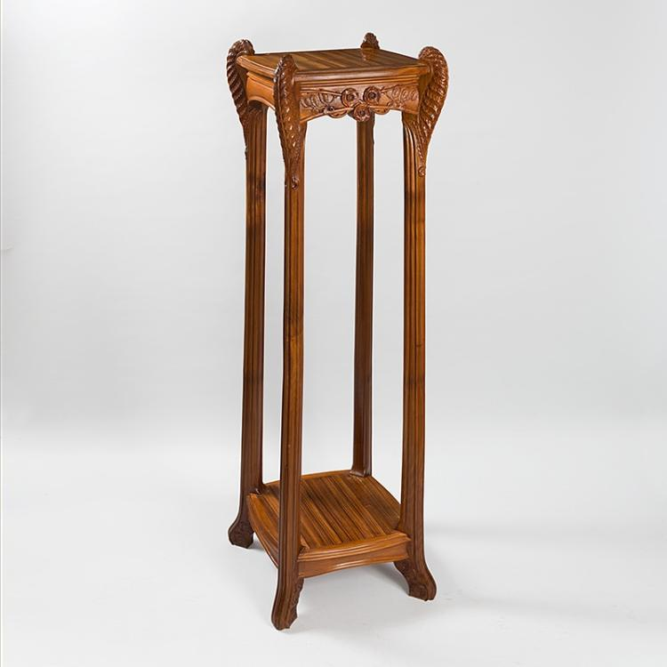 French Art Nouveau Selette Attributed to Léon Jallot