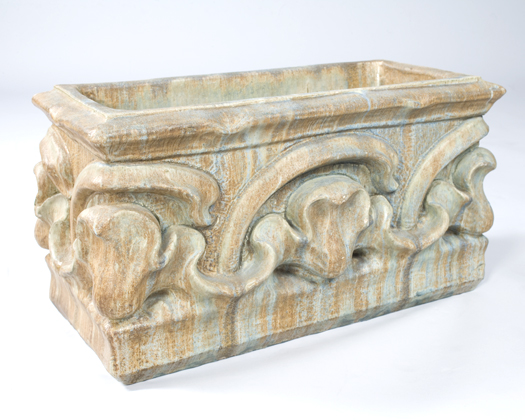 French Art Nouveau Ceramic Planter by Bigot