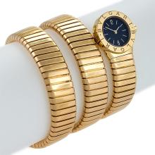 Bulgari Gold Triple Twist Tubogas Serpenti Watch