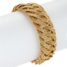 Tiffany & Co. France Gold Link Bracelet
