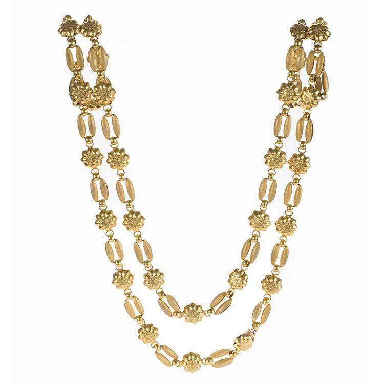 Antique Gold Linked Chain