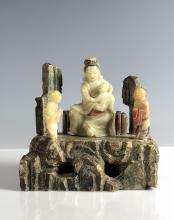 Soapstone Figure of Guan Yin
