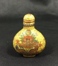 Chinese Cloissone Snuff Bottle.
