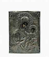Icône  représentant une Vierge à l'Enfant dite Hod