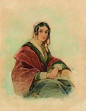 DUBUFE Edouard-Louis (1819-1883), attribué à. Port