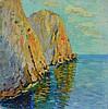GORBATOV Konstantin Ivanovich (1876-1945). Falaise, Konstantin Ivanovič Gorbatov, €600