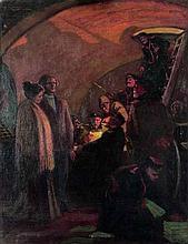 AXELROD Meir (1902-1970). Arrêt de clandestins pro