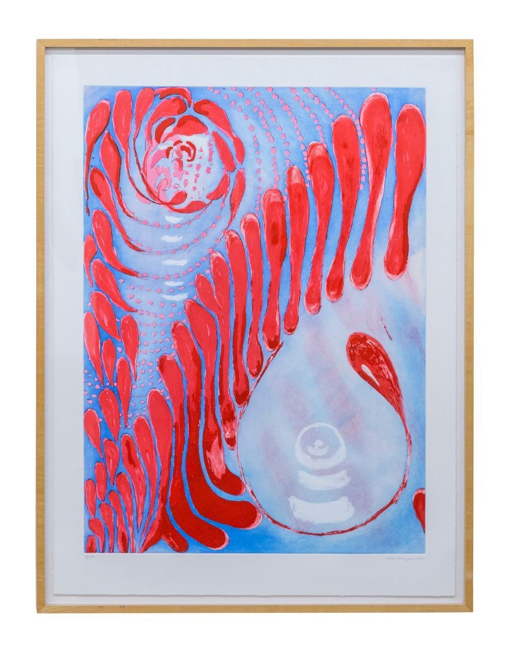 Louise Burgeois (1911-2010) Etching (France)