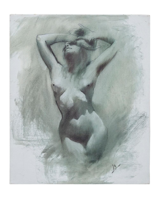 Jimmie Abeita (Born- 1947) Oil (Arizone, NM)
