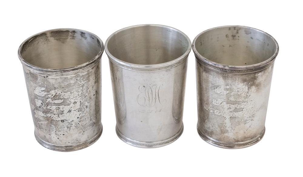 Mark J. Scearce Sterling Mint Julep Cups