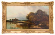 Charles O. Cole (1814-1858) Oil (Maine, Mass)