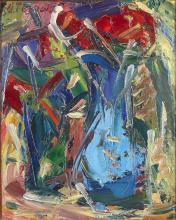 Antoine FERRARI (1910-1995) Nature morte au bouquet de fleurs.