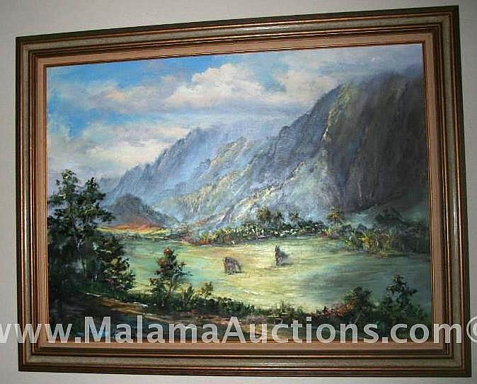 Pasture Painting