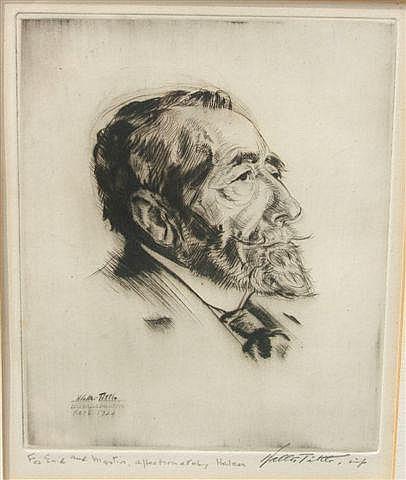 WALTER TITTLE (1883-1969) - Portrait of Joseph