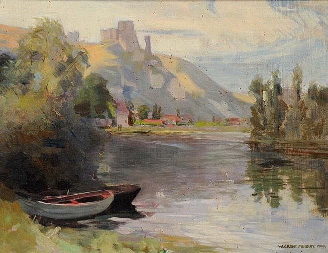 William Grant Murray (British, 1877-1950) Chateau