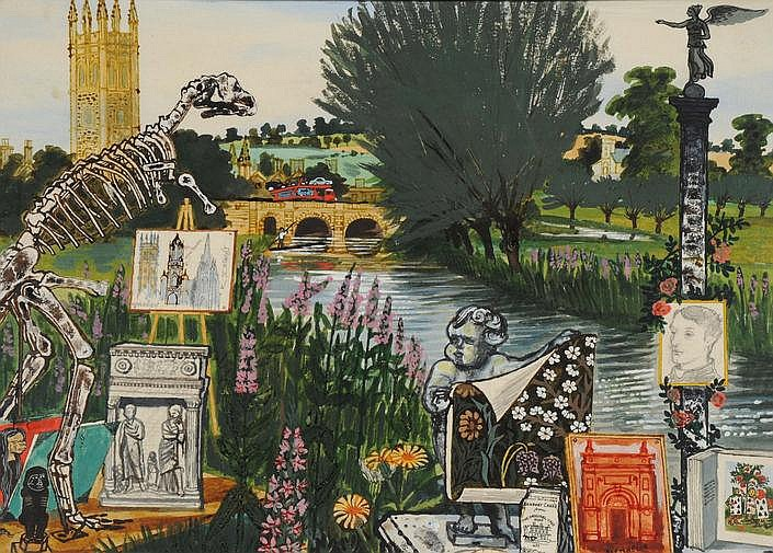 Walter Hoyle (British, 1922-2000) Oxfordshire,