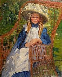 Elizabeth Campbell Clay (1871-1959) The Sun