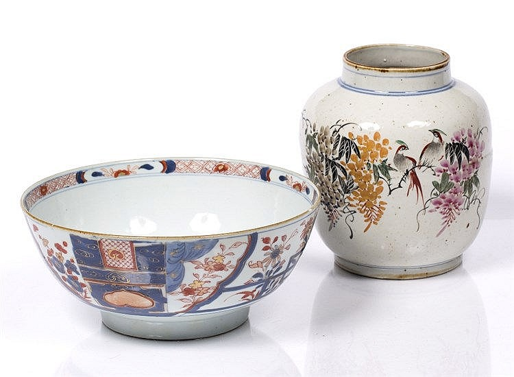 A Chinese export bowl
