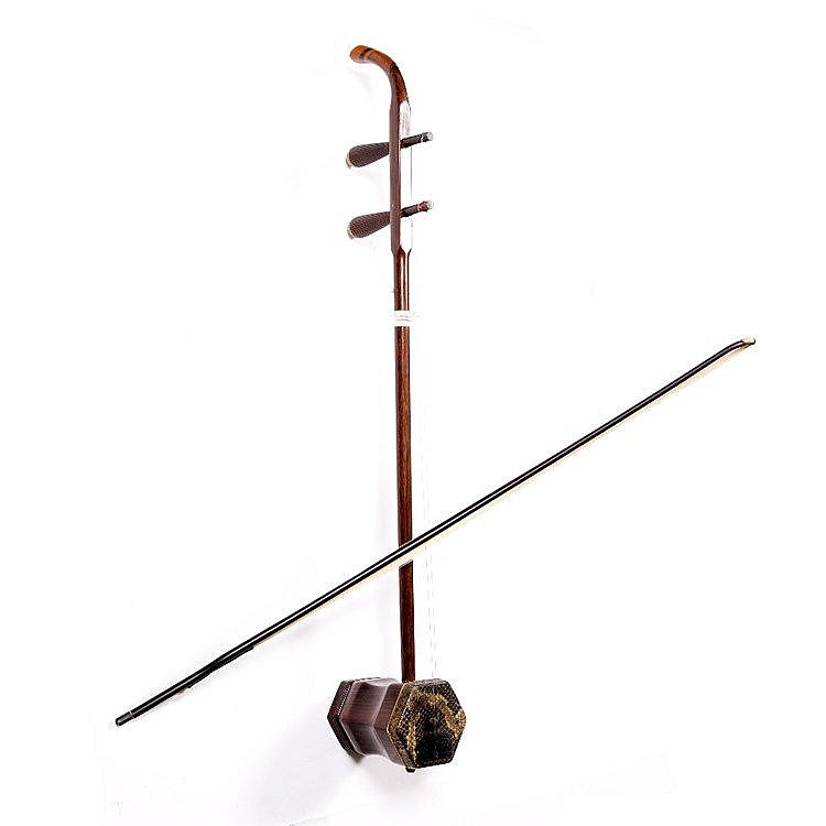 A Chinese Erhu (Chinese two string violin)
