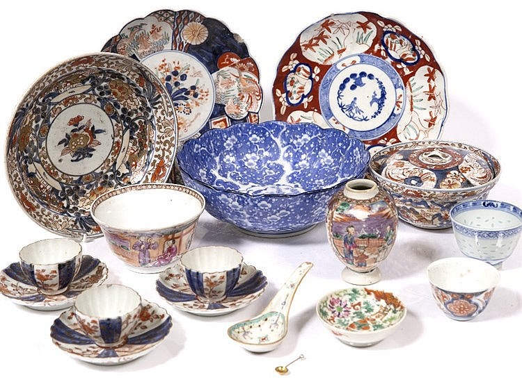 A collection of Chinese and Japanese pieces