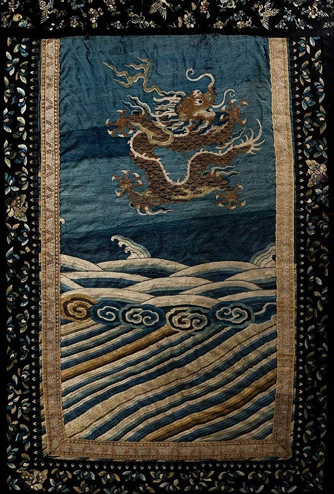 A Chinese textile panel