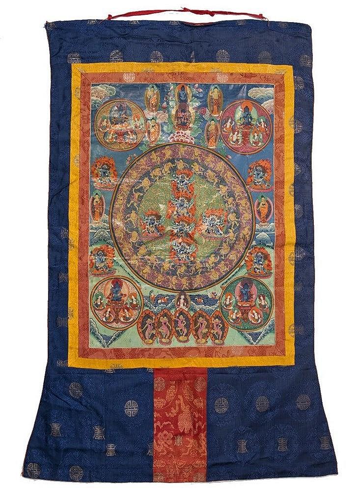 A Tibetan Thangka