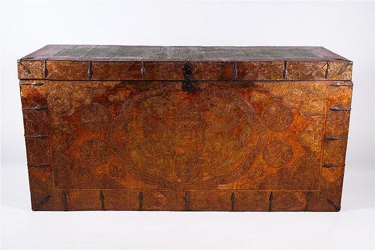 A Tibetan chest