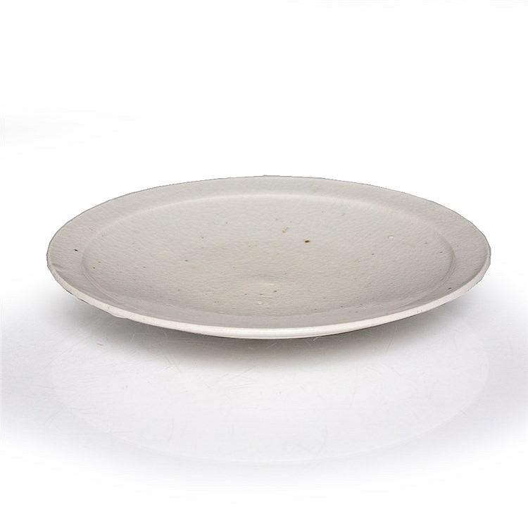 A Korean white glazed dish