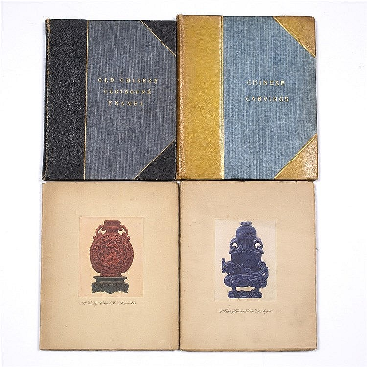 Four Spink Chinese art catalogues