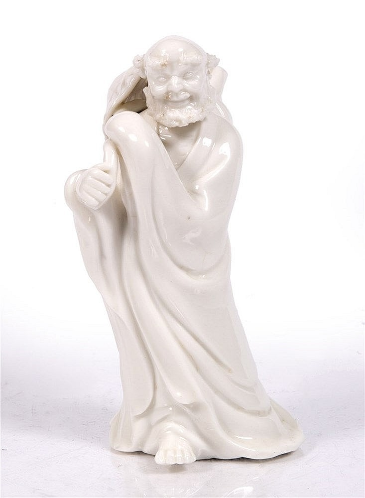 A Chinese Dehua figure of a Lohan