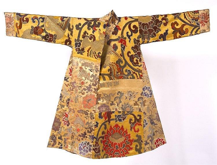 A Tibetan government official's robe