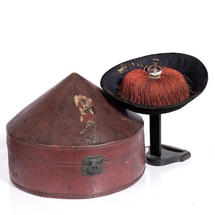 A Chinese Mandarin hat