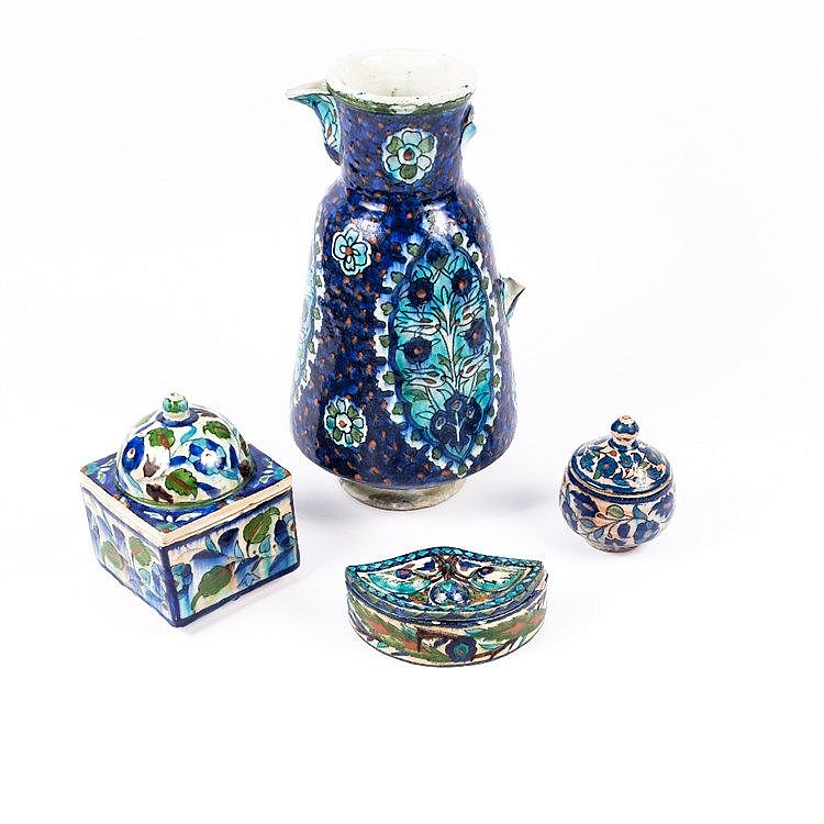 A collection of Palestine ceramics