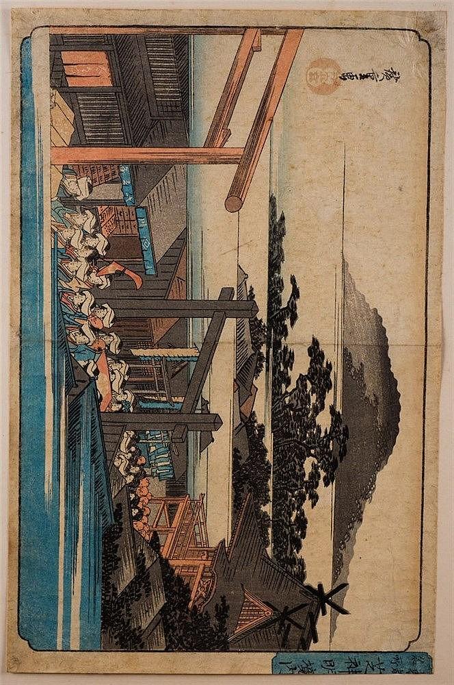A folio of Japanese woodblock prints