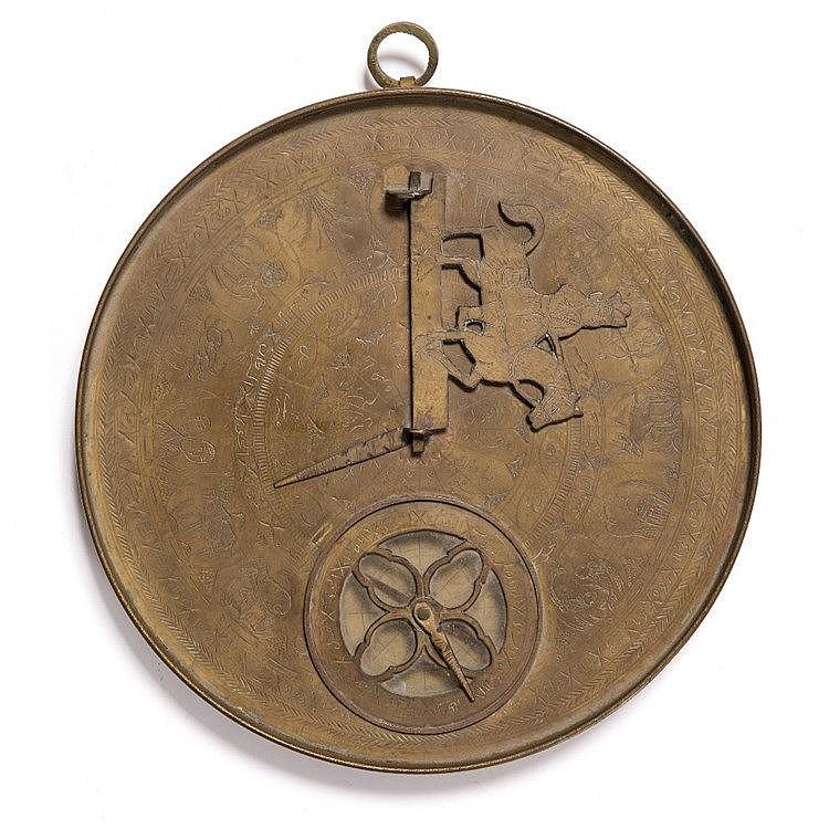 A brass Bedouin Persian astrolabe