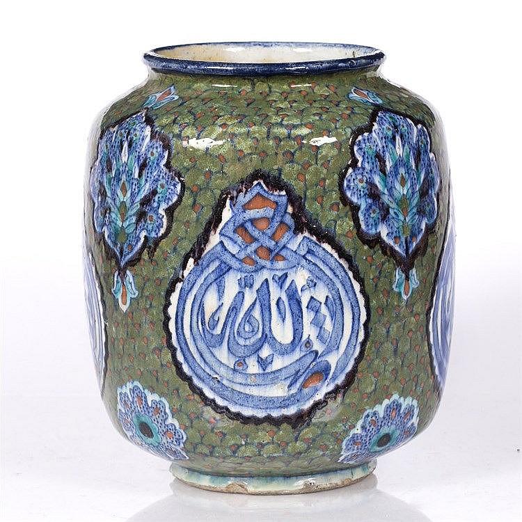 A Palestine pottery vase