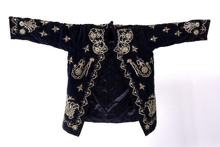 A blue Ottoman jacket