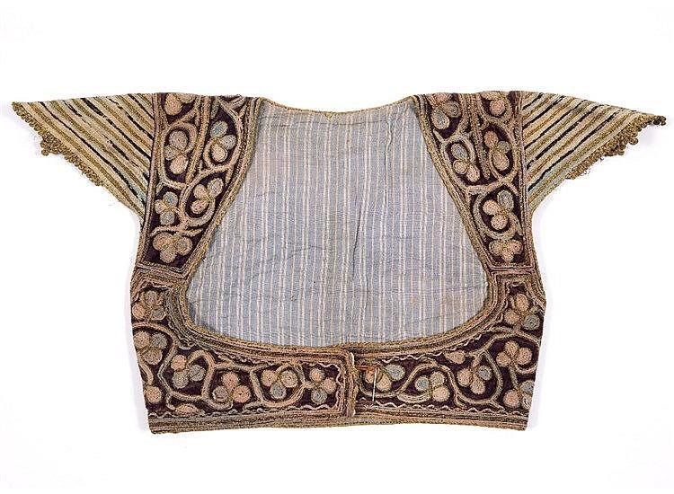 An Ottoman waistcoat