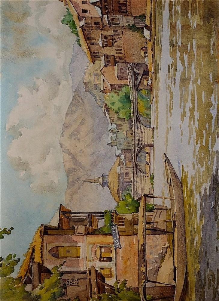 A portfolio of Indian watercolours