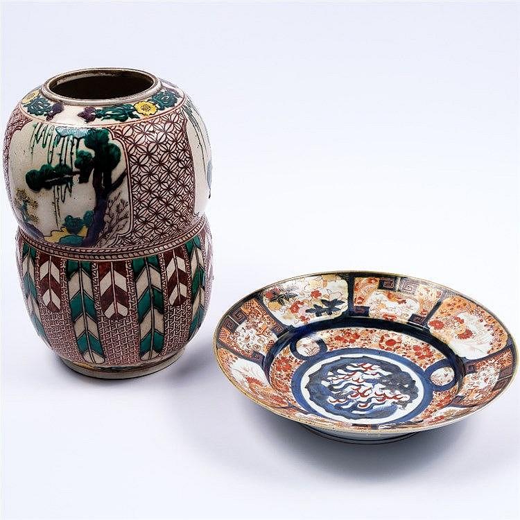 A Japanese Imari dish
