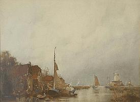 John Ernest Aitken (1881-1957) 'Autumn in