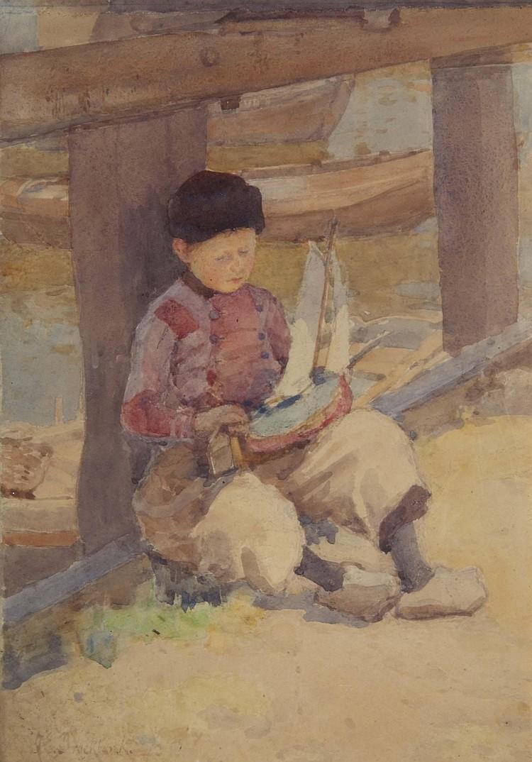 ALBERT ERNEST BROCKBANK (1862-1958) 'A Young