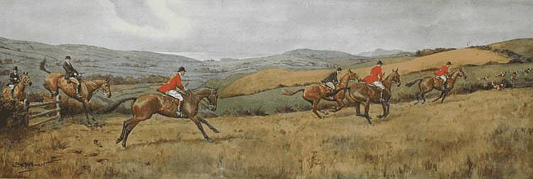 AFTER F.A STEWART Hunting with horses and hounds,