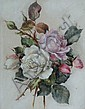 MARIE HENSLEY (c.1856-1911) Mauve and white, Marie Hensley, Click for value