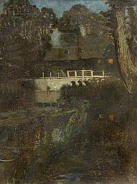 JOHN BYAM LISTON SHAW (1872-1919) A RIVER SPIRIT