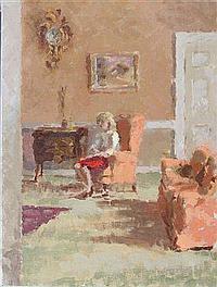 ERIC PEET (1909-1968) - Renee Goosens at Holton