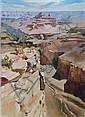 ERIC PEET (1909-1968) - The Grand Canyon, oils on