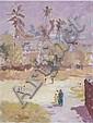ERIC PEET (1909-1968) - Maidan, Bombay, oils on