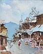 ERIC PEET (1909-1968) - Village - Northern India,