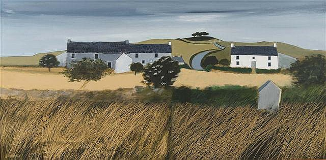 IAN HUMPHREYS (b. 1956) - 'Cornish Landscape',